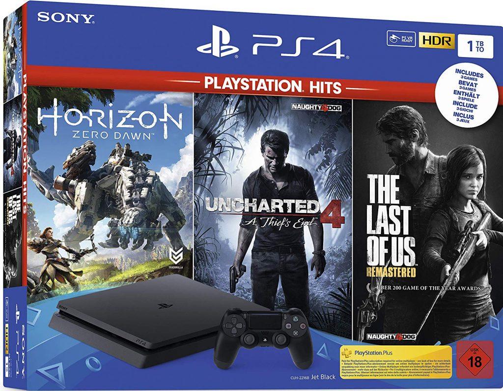 PlayStation 4 Hits Bundle mit drei Spielen