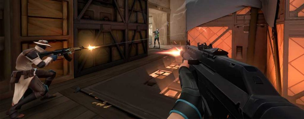 Riot Project A Shooter Titel