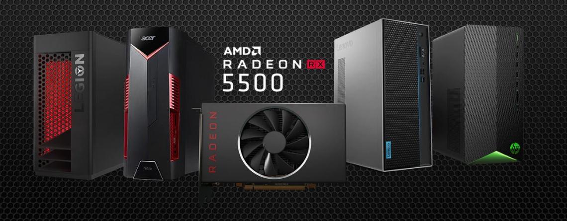 AMD hat die 5500er Serie angekündigt – Alternative zu 5700er und GTX Super?