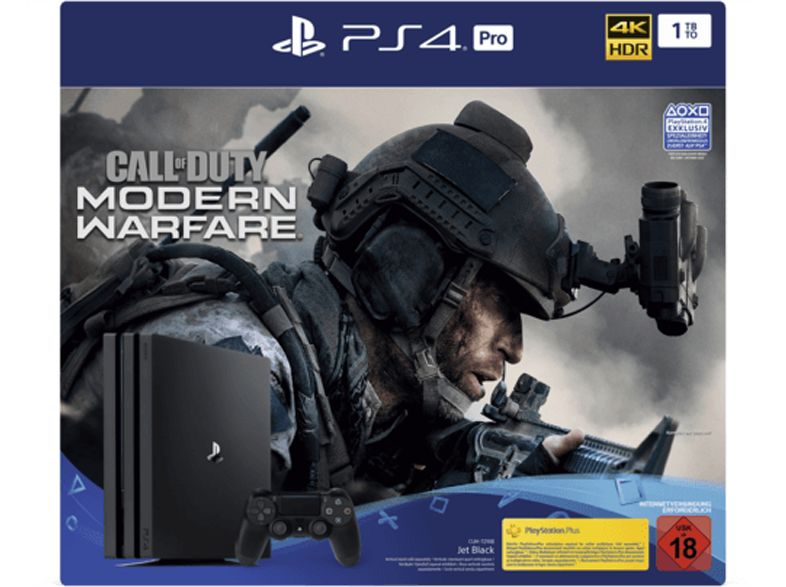PS4 Pro mit Call of Duty: Modern Warfare