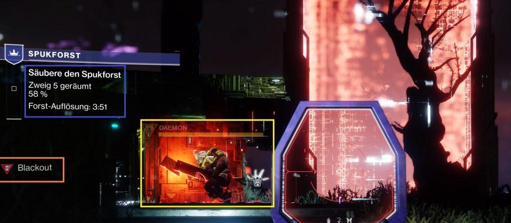 Spukforst Shadowkeep Destiny