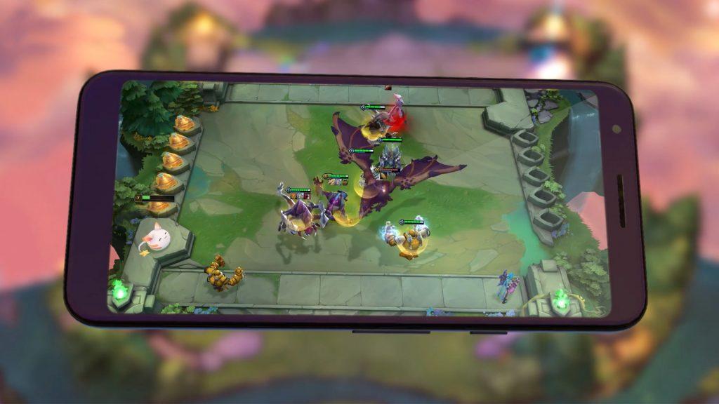 TFT Mobile Bild