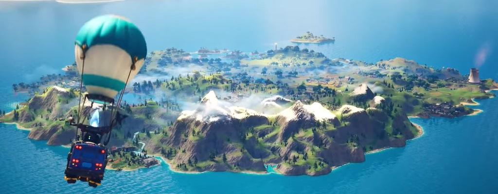 Fortnite: Cinematic zu Chapter 2 zeigt die neue Map und viele Skins