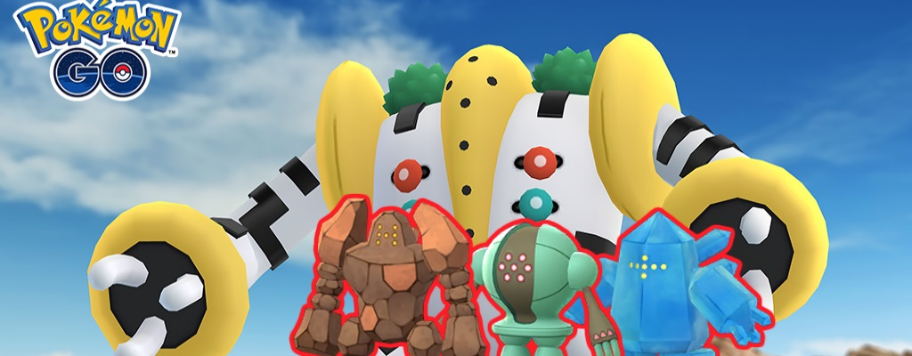 Großes Live-Event in Pokémon GO bringt Regigigas – Shiny Regi-Trio in Raids