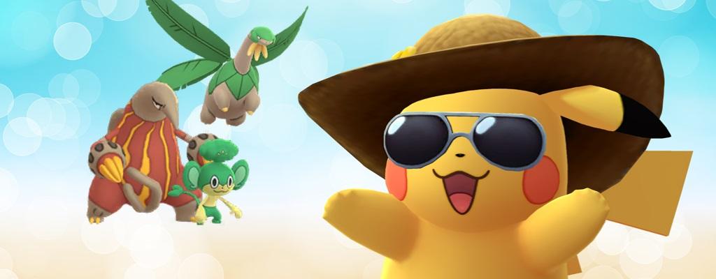 Pokémon GO: Die 3 besten Urlaubsorte, um viele regionale Pokémon zu fangen
