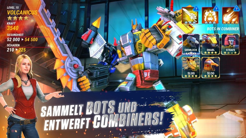 Transformers Earth Wars Helden