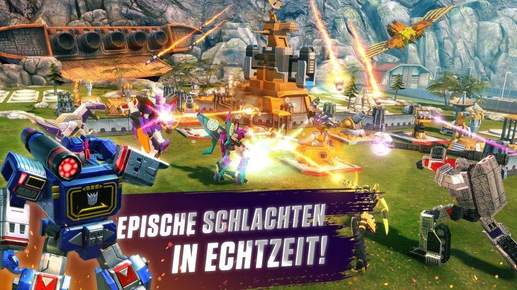 Transformers Earth Wars Kampf