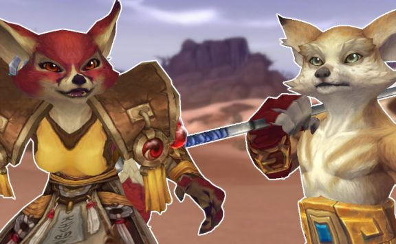 WoW Vulpera male and female voldun title 1140×445