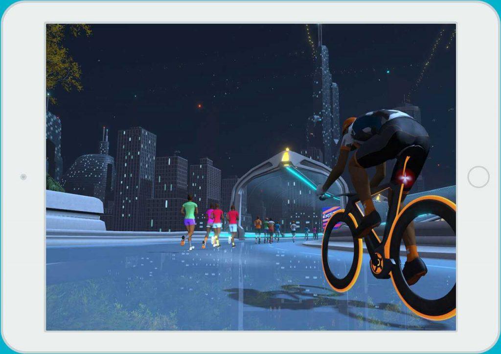 Zwift Tron Bike