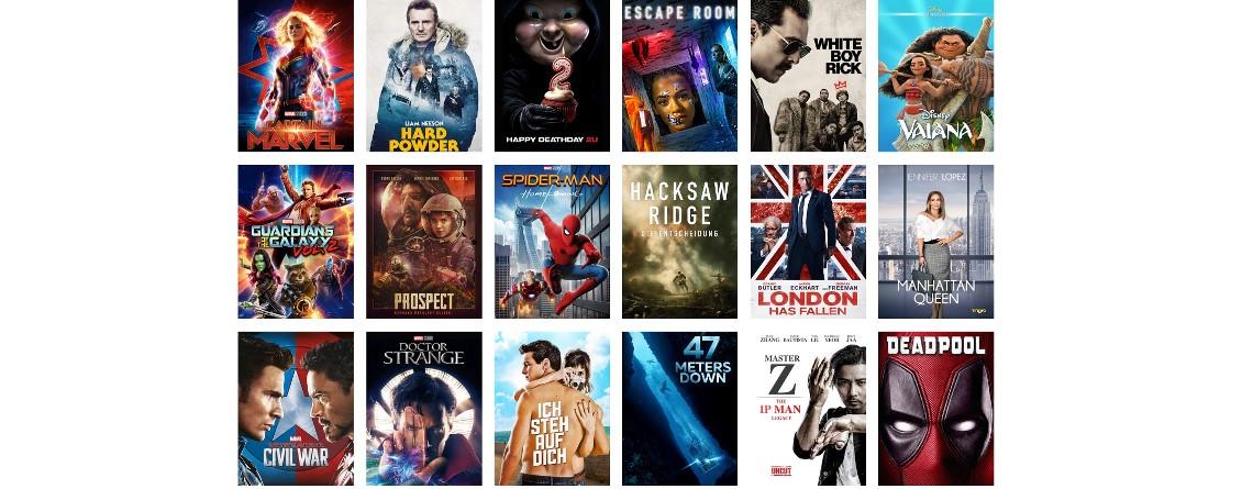 Noch bis Sonntag: Filme für nur 99 Cent leihen mit Amazon Prime