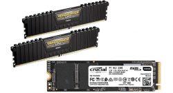 Amazon Angebote: Top RAM von Corsair & Crucial SSD stark reduziert