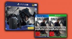 PS4 Pro Angebot bei MediaMarkt: Mit CoD: Modern Warfare für nur 369€