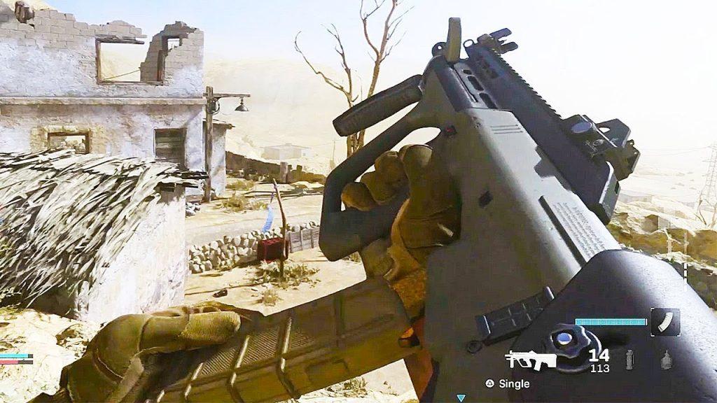 Call of Duty Modern Warfare Aug