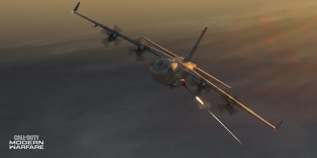 cod modern warfare ac-130