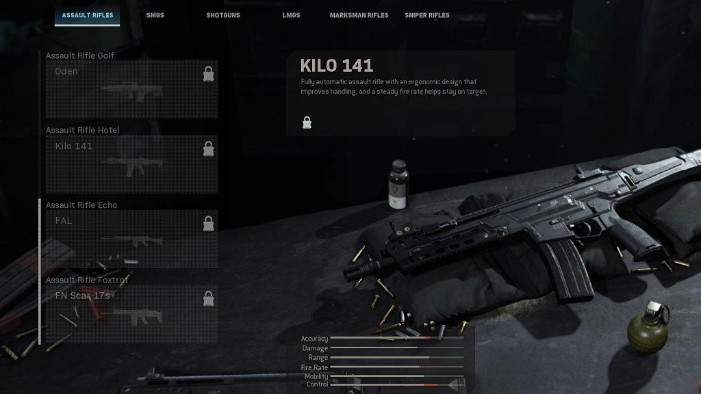 Call of Duty Modern Warfare Kilo 141