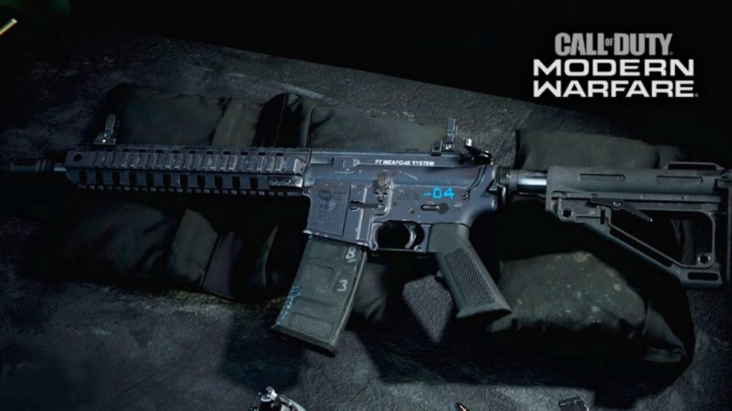 Call of Duty Modern Warfare M4