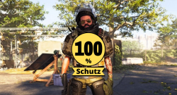 division 2 100% Schutz hollow man