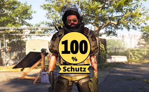 division 2 100% Schutz hollow man