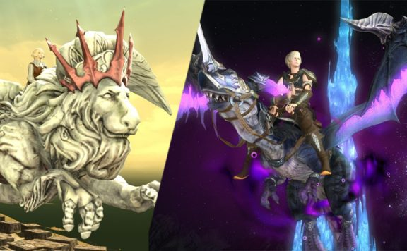 final fantasy xiv cosmetics 5.1 header