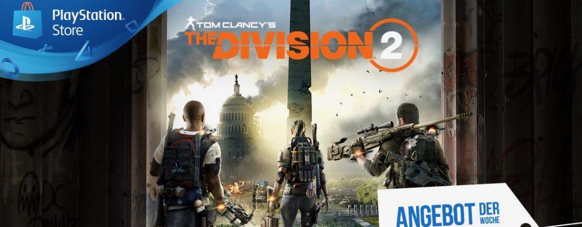 Passend zu neuem DLC: The Division 2 im PS Store jetzt bis zu 70% günstiger