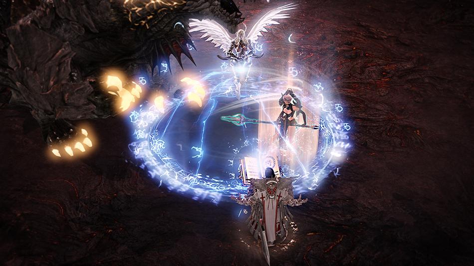 lost ark holy knight engel