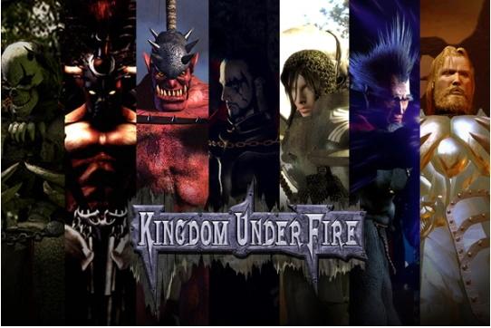 Kingdom Under Fire a war of heroes charaktere