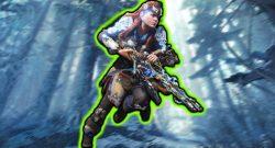 Im neuen Cross-Over von Monster Hunter World könnt ihr euch Aloys Waffe holen
