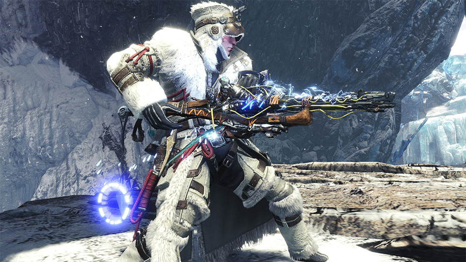 Monster Hunter World Aloy Waffe Cross-Over