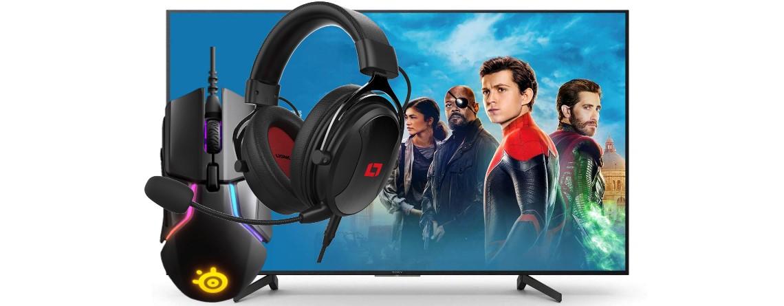 Gute Gaming-Maus und Headset sowie UHD-TV bei Amazon reduziert