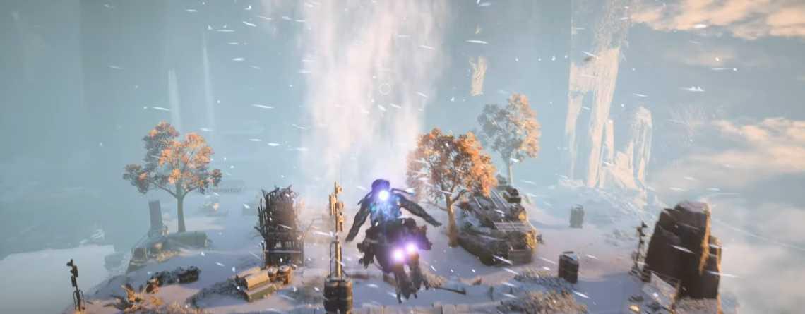 Seht hier erste Videos von Anthem voller Schnee im neuen Winter-Event