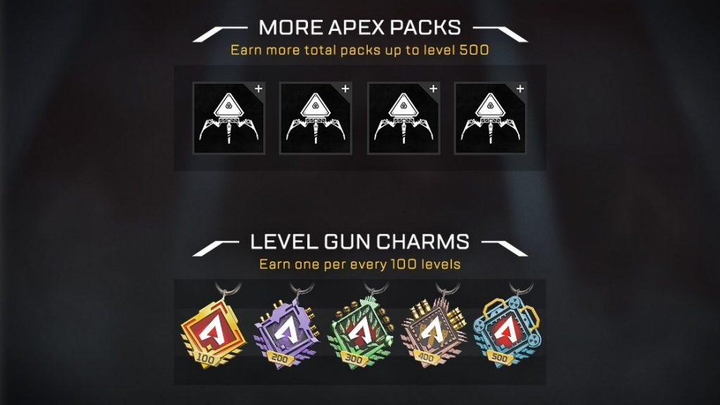Apex Legends Level Charms
