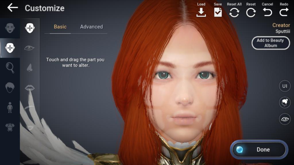 BDO Mobile Charakter-Editor