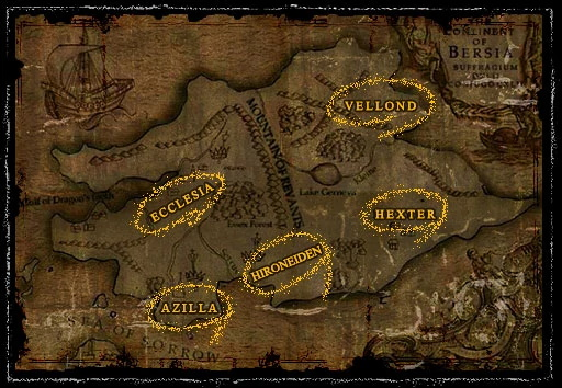 Kingdom Under Fire Kontinent Bersia