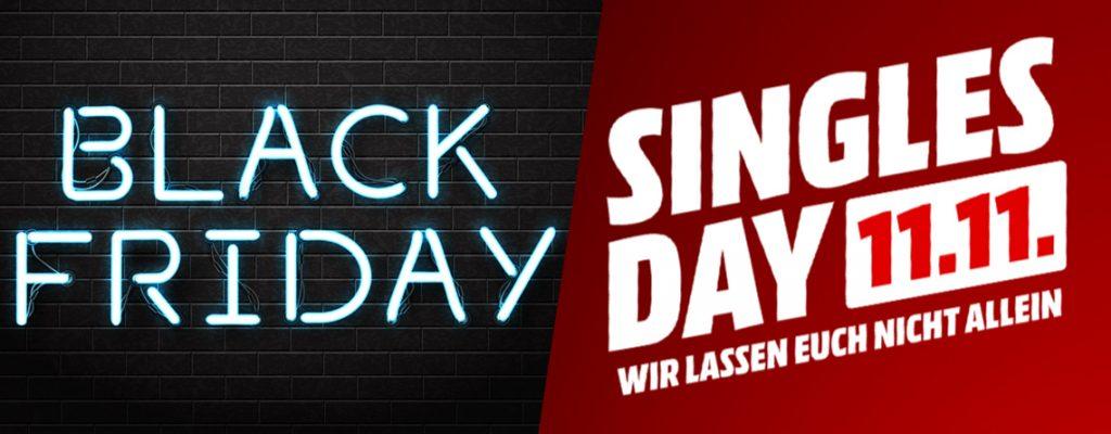 Black Friday und Singles' Day sind die größten Shopping-Events - mit klarer Ost-West-Verteilung.