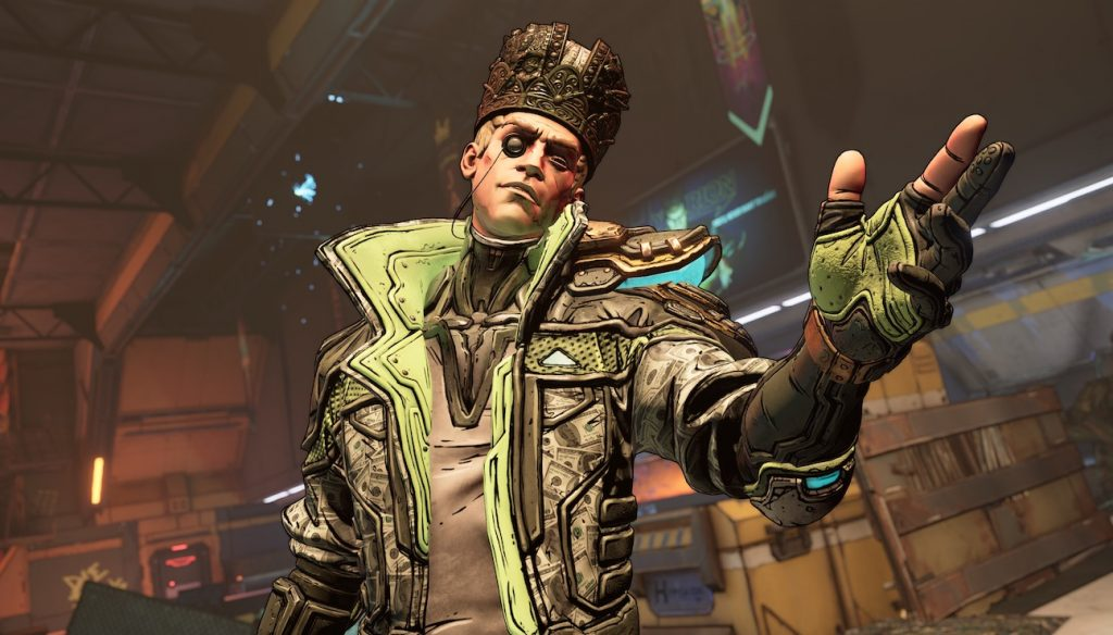 Borderlands 3 DLC Skin Zane