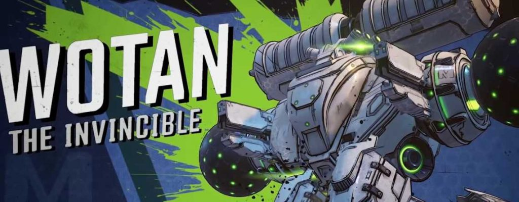 Borderlands 3 Wotan the Invincible Titel