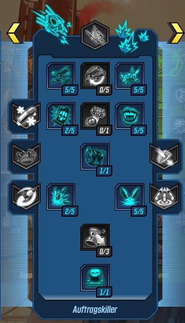 Borderlands 3 Zane Solo Build Tree