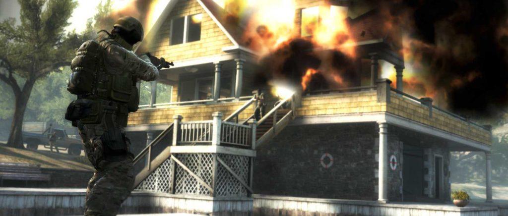 CSGO explodierendes Haus
