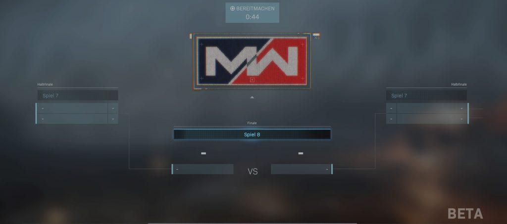 CoD Modern Warfare Turnier Finale