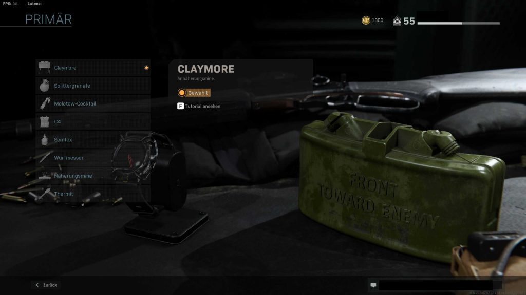 Call of Duty Modern Warfare Claymore 2