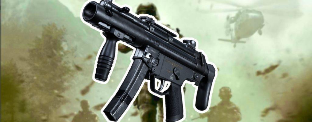 Call of Duty Modern Warfare MP5K Titel