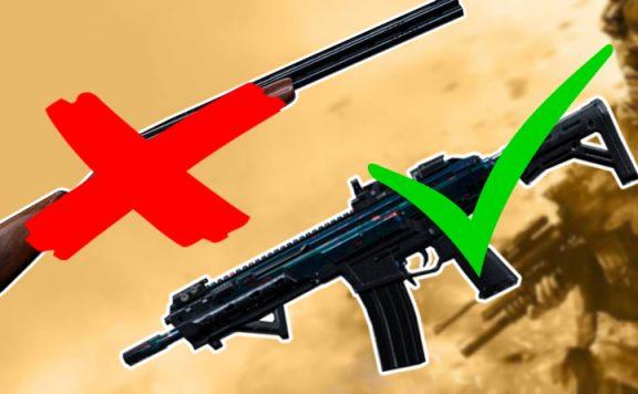 Call of Duty Modern Warfare beliebte Waffen Titel