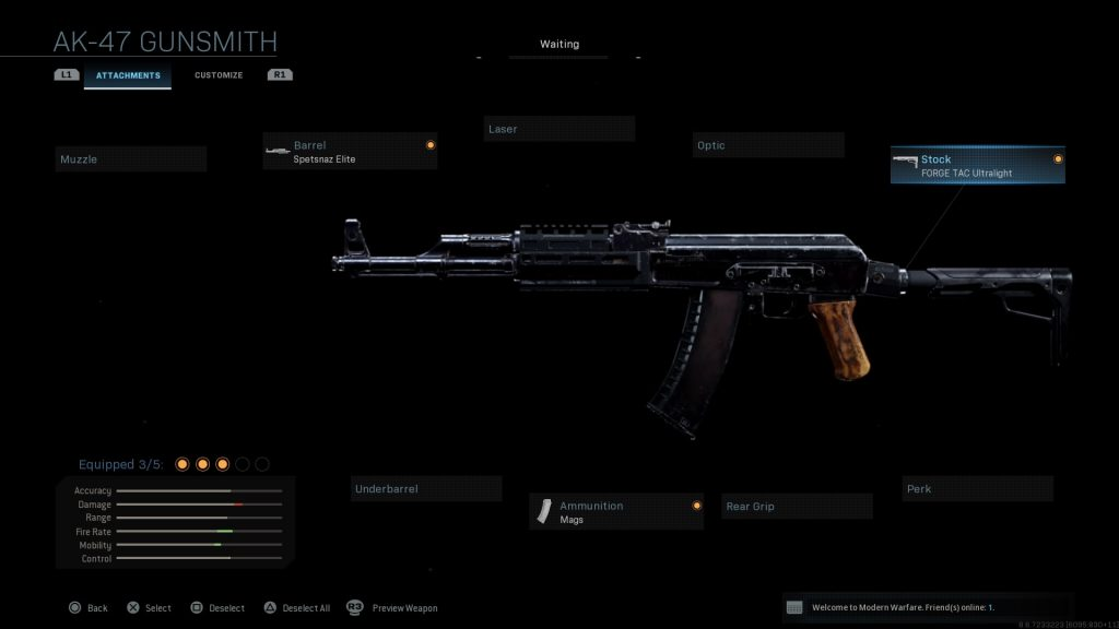 Call of Duty Modern Warfare geheime Waffen AK 12