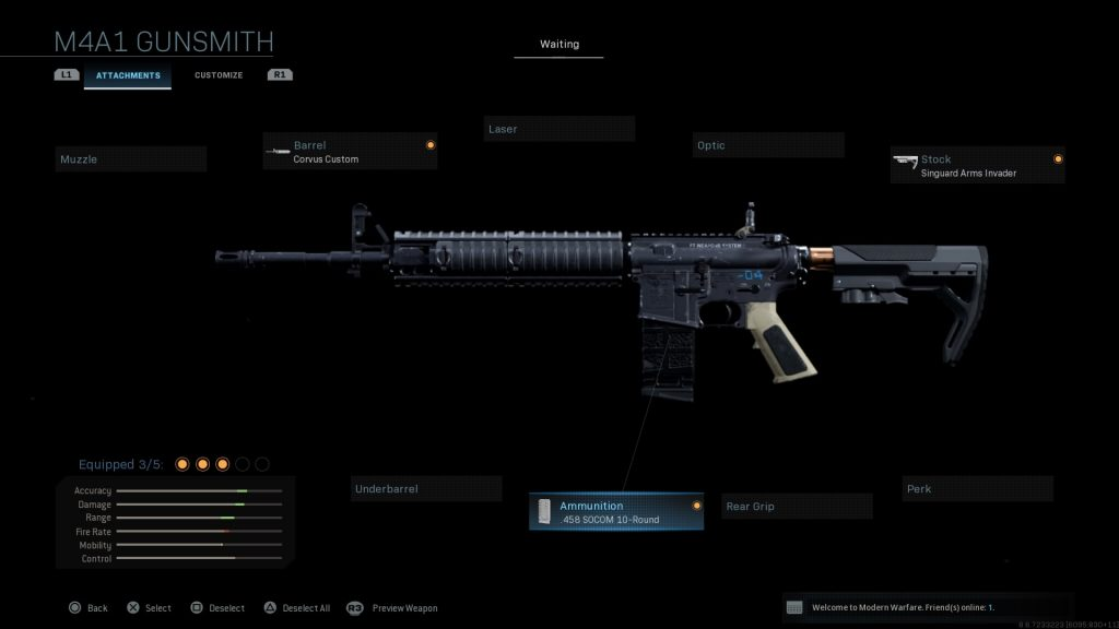 Call of Duty Modern Warfare geheime Waffen Beowulf AR 15 50