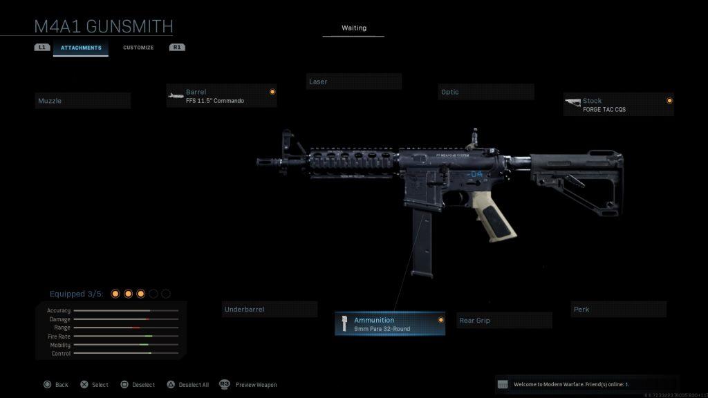 Call of Duty Modern Warfare geheime Waffen Colt SMG