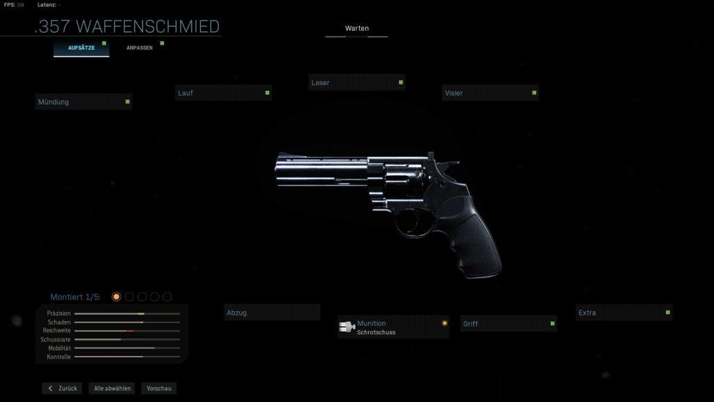 Call of Duty Modern Warfare geheime Waffen Executioner