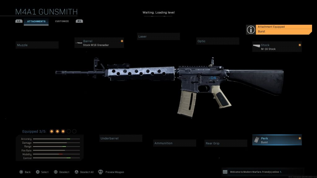 Call of Duty Modern Warfare geheime Waffen M16