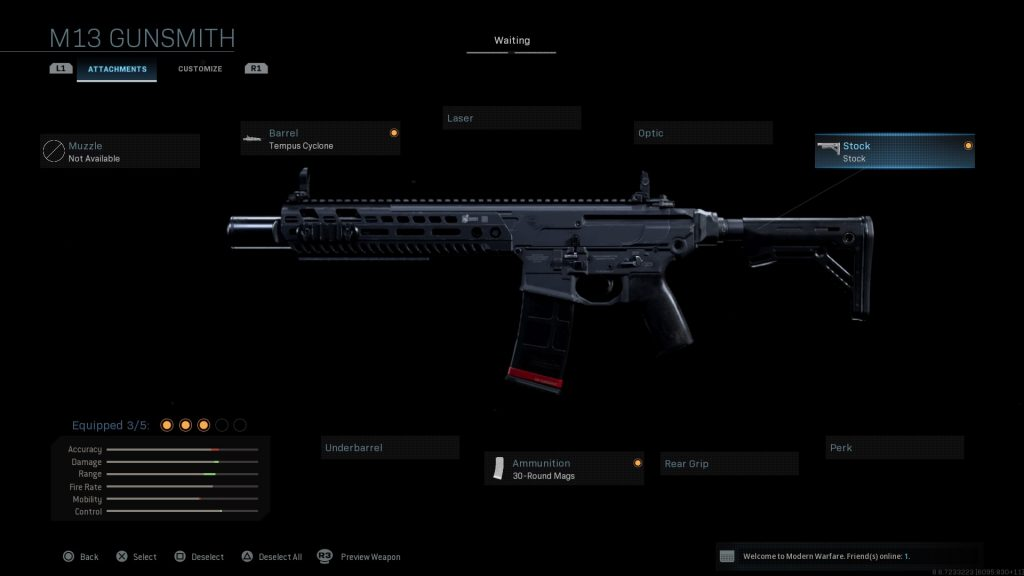 Call of Duty Modern Warfare geheime Waffen MCX