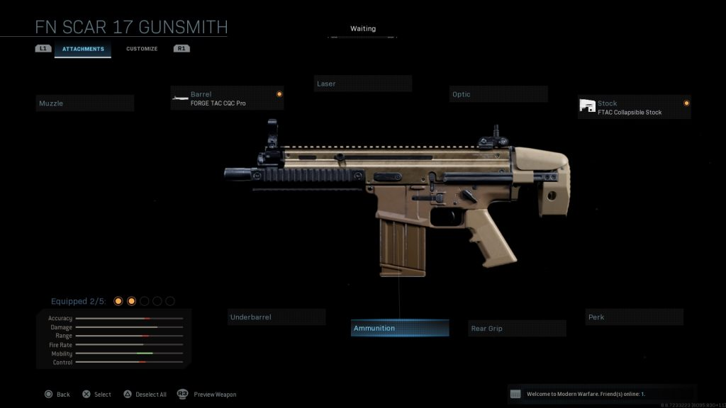 Call of Duty Modern Warfare geheime Waffen Scar PDW