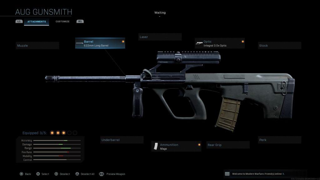 Call of Duty Modern Warfare geheime Waffen Steyr Aug
